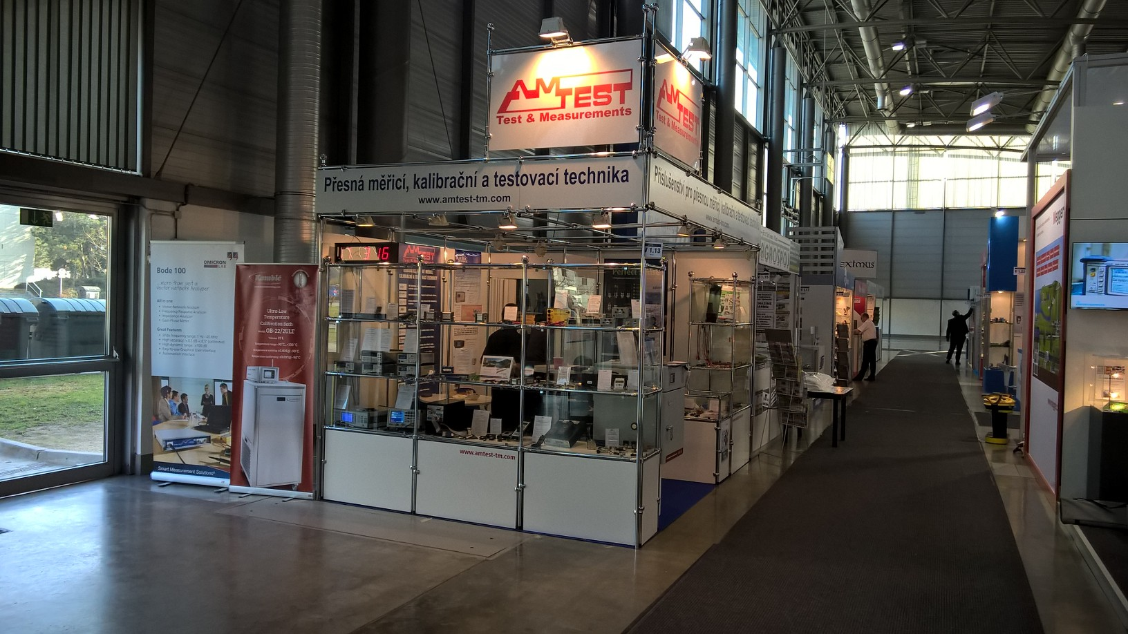 Booth of Amtest-TM