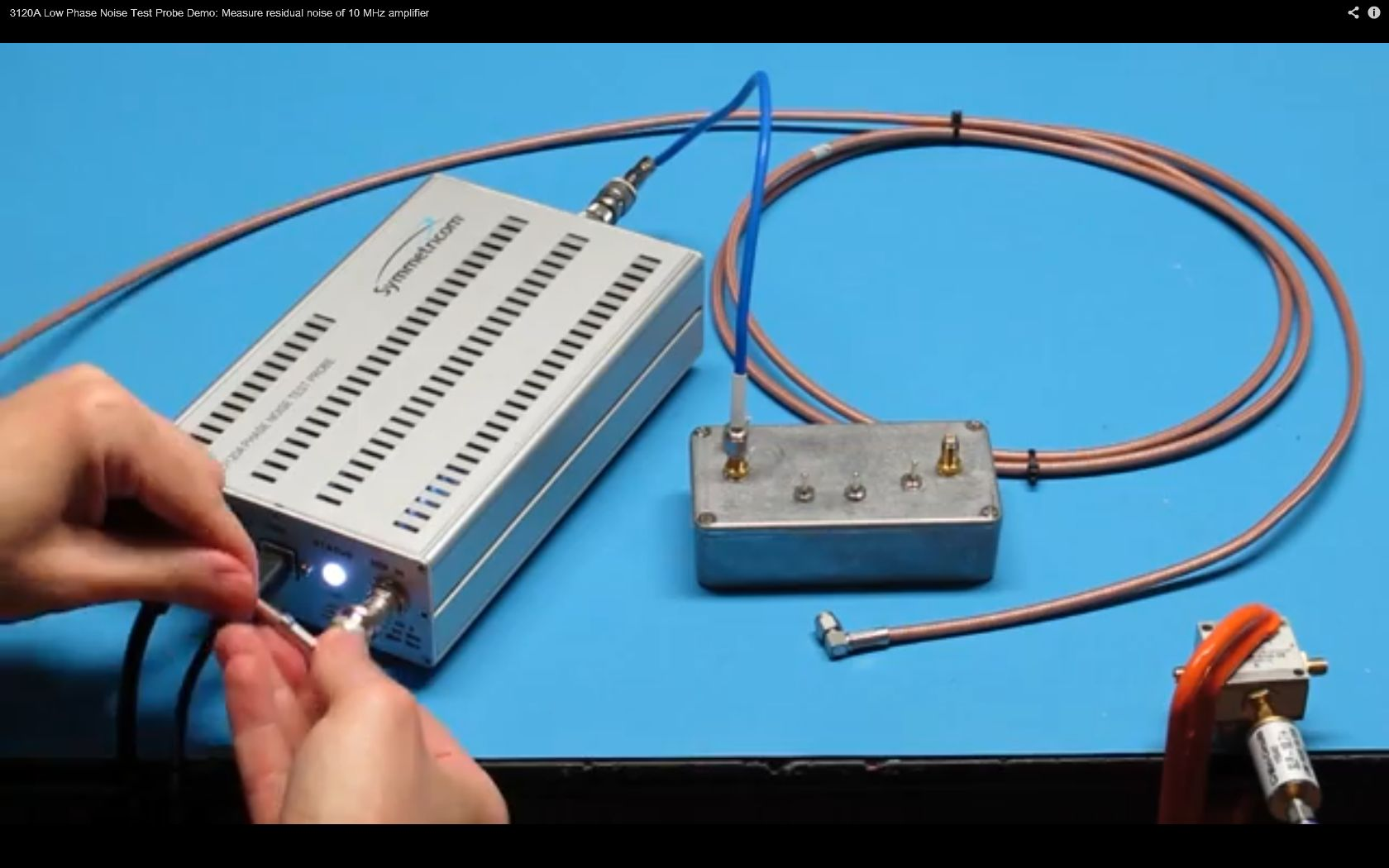 3120A Low Phase Noise Test Probe DEMO