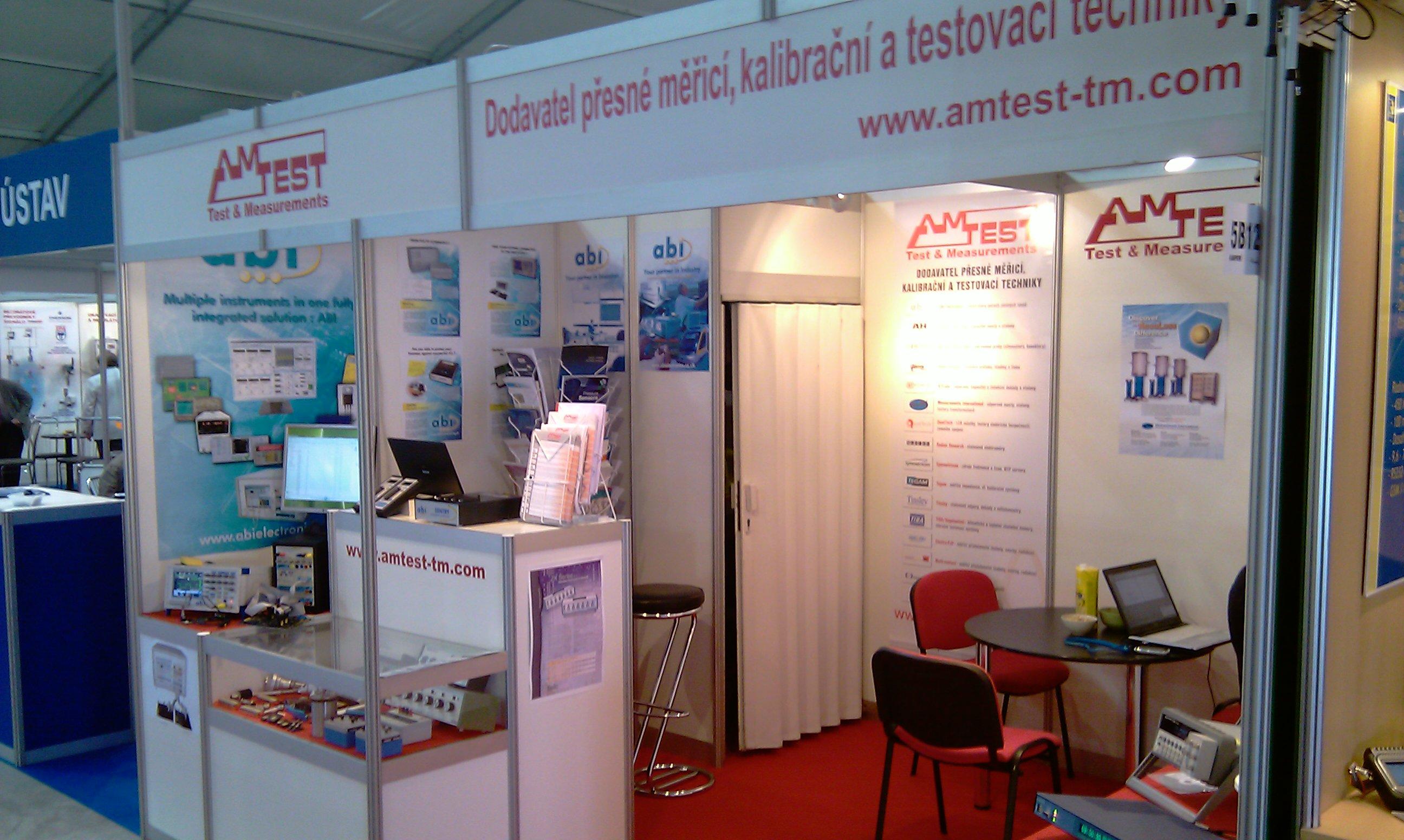 Exhibition Stand Invitation : Amtest tm exhibition amper