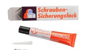 Schraubensicherungslack SILA 605 (screw securing and thread-sealing varnish)