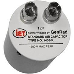 GenRad 1403 Series High Frequency Standard Capacitor