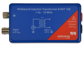 B-WIT 100/B-LFT 100 Wideband Injection Transformer